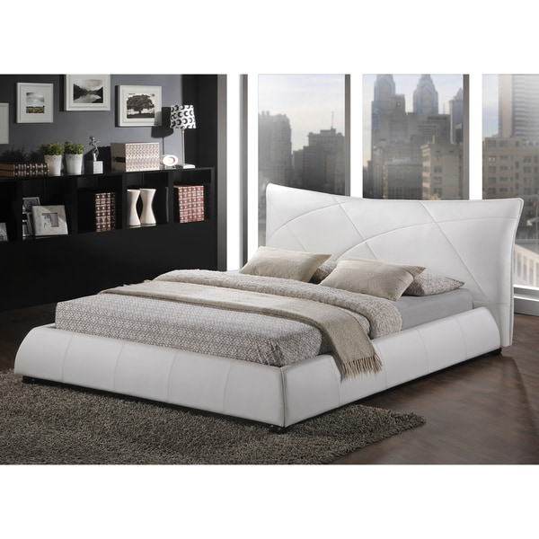 Contemporary Modern Beds: Shop Baxton Studio Corie White Modern Platform Bed