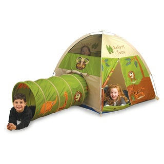 Pacific Play Tents Safari Tent / Tunnel Combo