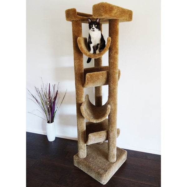 New Cat Condos 6-foot Skyscraper Cat Tree