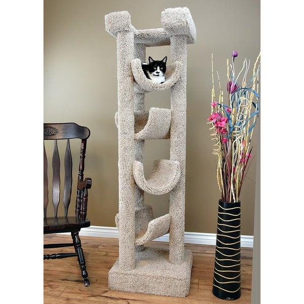 New Cat Condos 6 Foot Skyscraper Cat Tree Free Shipping