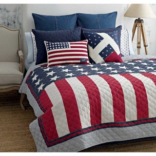 Tommy Hilfiger Americana Cotton Quilt