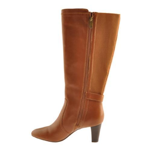 Women's Anne Klein Gallagher Wide Calf Cognac Leather - Free ...