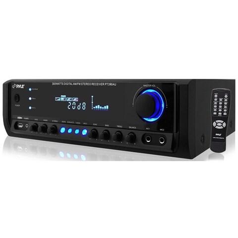 PyleHome PT390AU AM/FM Receiver - 300 W RMS - 4 Channel
