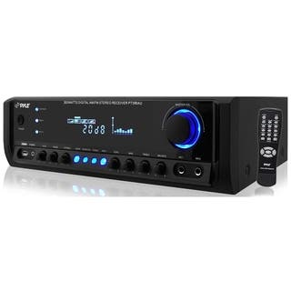 PyleHome PT390AU AM/FM Receiver - 300 W RMS - 4 Channel|https://ak1.ostkcdn.com/images/products/8079570/P15433708.jpg?impolicy=medium