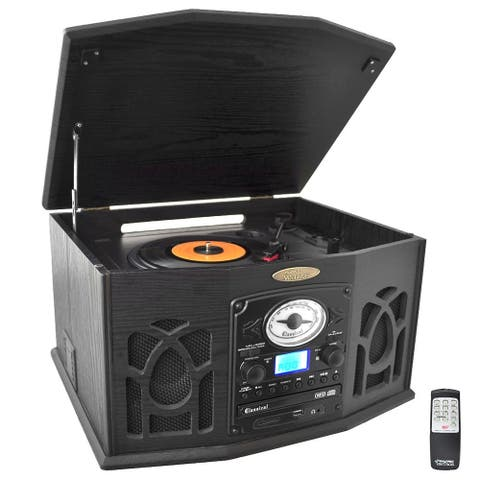 PyleHome PTCDS7UIB Record/CD/Cassette Turntable