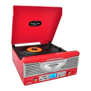 PyleHome Vintage PTR8UR Record Turntable