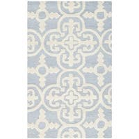 Safavieh Handmade Cambridge Moroccan Light Blue Wool Indoor Rug - 2'6 x 4'