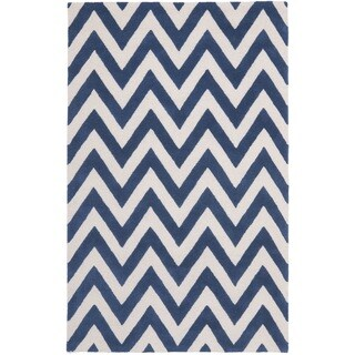Safavieh Handmade Moroccan Cambridge Chevron Navy Wool Rug (9' x 12')|https://ak1.ostkcdn.com/images/products/8079812/8079812/Safavieh-Handmade-Moroccan-Cambridge-Chevron-Navy-Wool-Rug-9-x-12-P15433907.jpg?_ostk_perf_=percv&impolicy=medium