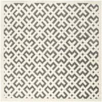 Safavieh Handmade Moroccan Dark Grey Indoor Wool Rug - 7' Square