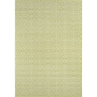 "Momeni Baja Diamonds Green Indoor/Outdoor Area Rug - 8'6"" x 13'"