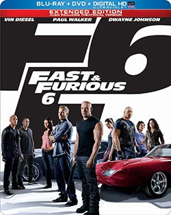 Fast & Furious 6 (Limited Edition) (Blu-ray/DVD)