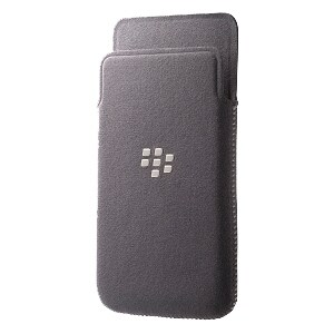 BlackBerry Carrying Case for Smartphone, ID Card, Credit Card - Gray
