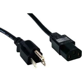 Comprehensive Standard PC Power Cord, NEMA 5-15P to IEC 60320-C13, 18