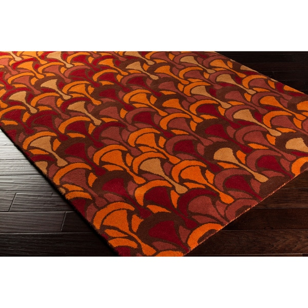 Hand-tufted 'Destinations' Moroccan Tile Area Rug - 5' x 8'