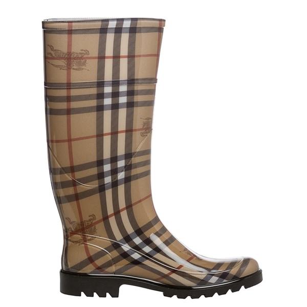 Haymarket Check Rainboots