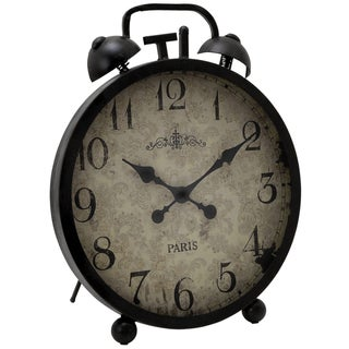 Casa Cortes Oversized Metal Table Clock