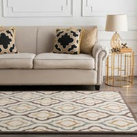 Hand-tufted Modern Classics Moroccan Tile Area Rug - 5' x 8'