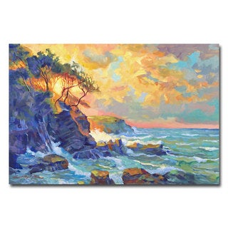 David Lloyd Glover 'Pacific Dawn' Canvas Art
