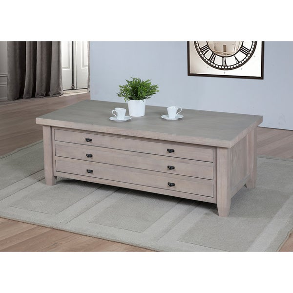 Navigator Dove Grey Coffee Table Free Shipping Today
