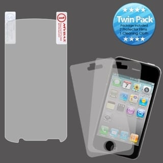 INSTEN Clear Screen Protector Twin Pack for Motorola MB865 Atrix 2