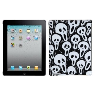 INSTEN Screaming Ghosts Back Tablet Case Cover for Apple iPad 2/ 4