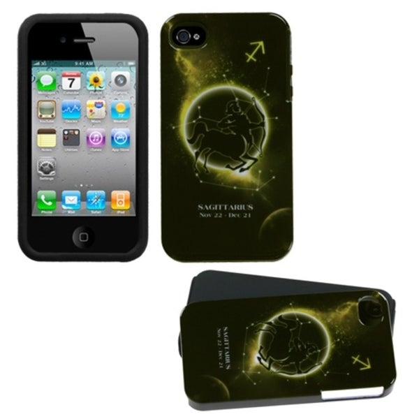 INSTEN Sagittarius Fusion Phone Case Cover for Apple iPhone 4S/ 4
