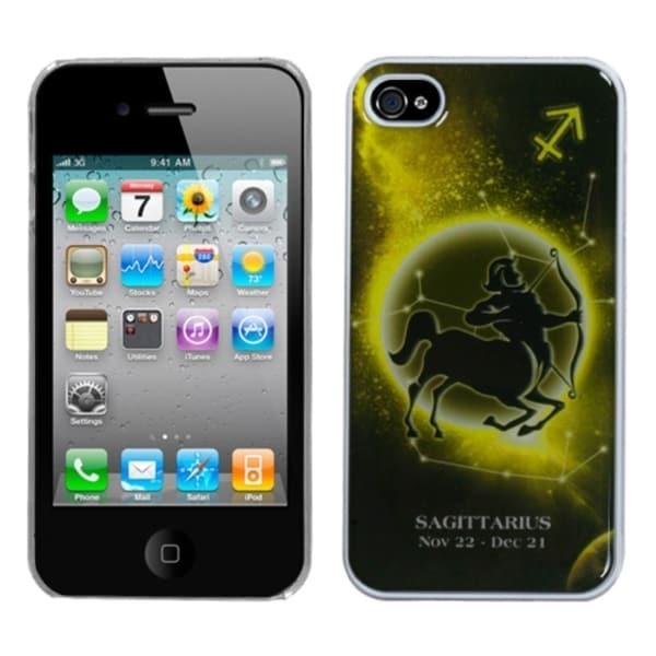 INSTEN Sagittarius Back Phone Case Cover for Apple iPhone 4S/ 4