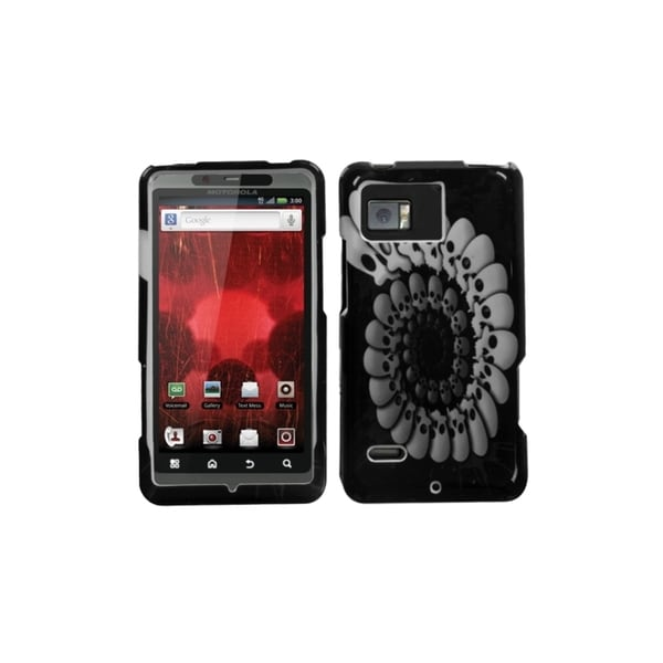INSTEN Round Skull Phone Case Cover for Motorola XT875 Droid Bionic