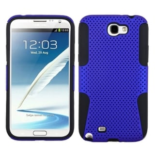 INSTEN Blue/ Black Astronoot Phone Case Cover for Samsung Galaxy Note II