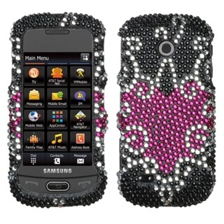 INSTEN Fantastic Flowers Diamante Protector Phone Case Cover for Apple iPhone 5