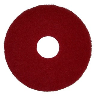 Bissell Commercial Red 12-inch Polish Pad
