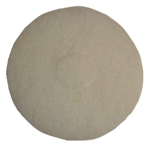 Bissell Commercial 12-Inch White Polish Pad for BGEM9000 Floor Machine