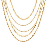 14k Yellow Gold over Sterling Silver 18-inch Pendant Chain