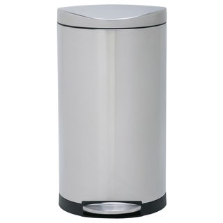 simplehuman Semi-round Step Trash Can 30 liters/8 Gallons