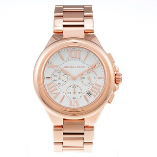 Michael Kors Women's MK5757 'Camille' Rose Gold-Tone Watch