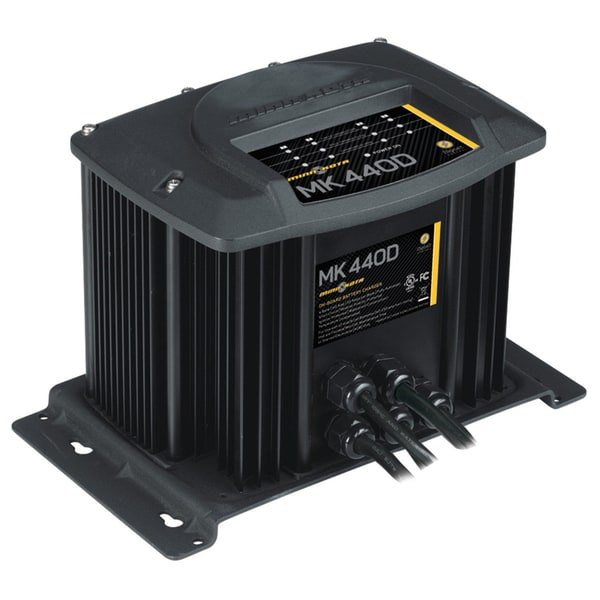 Minn Kota MK-440D Digital Linear Charger 4 Bank 10 Amp