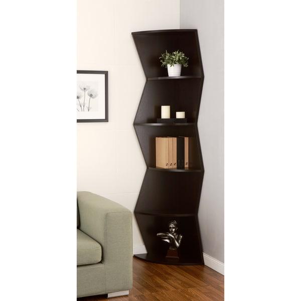 Furniture Of America Jaggi Modern Cappuccino Corner