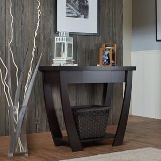 furniture of america borramora modern console sofa