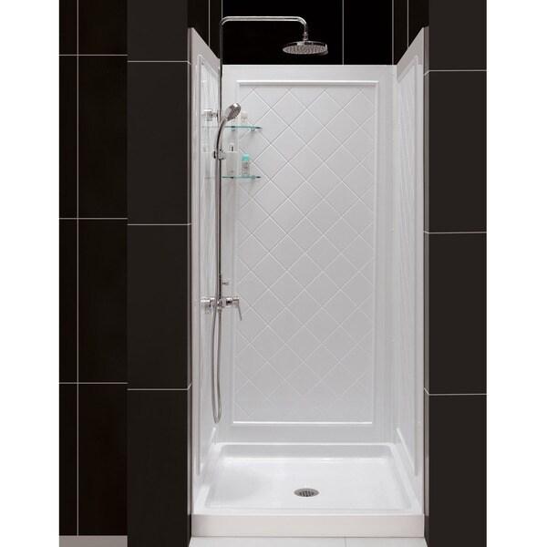 Dreamline Slimline 32 X 32 Inch Single Threshold Shower