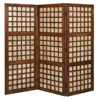 Capiz Square Screen Room Divider (Philippines)