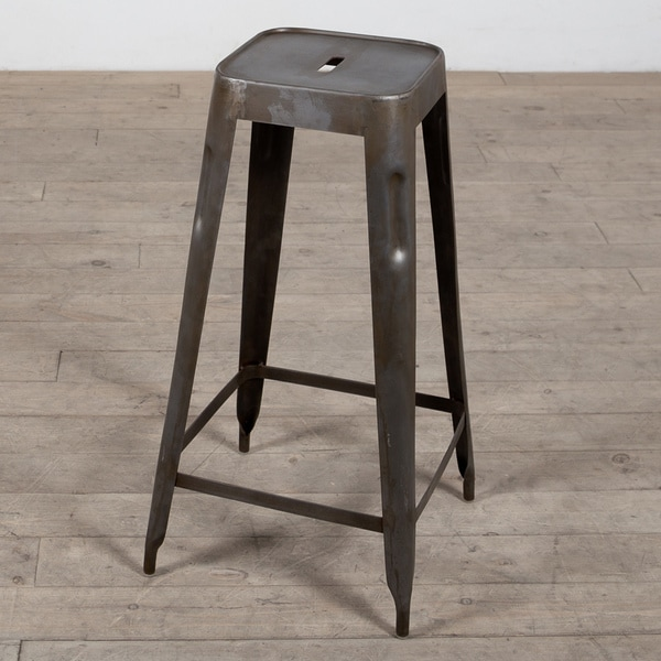 Madurai Natural Steel Bar Stool (India)