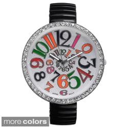 Geneva Platinum Women's Stretch Watch