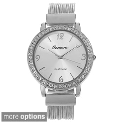 Geneva Platinum Women's Multi-strand Watch