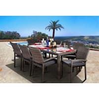 Havenside Home Popham 9-piece Rectangular Grey Dining Set