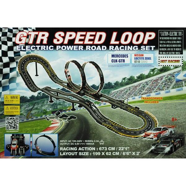 Shop Electric Power Gtr Speed Loop Road Racing Set Free