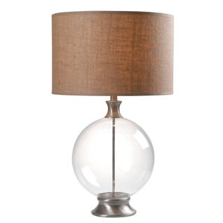 Gemma 19-inch Glass Table Lamp