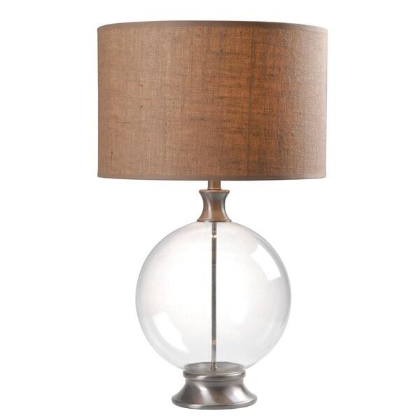 Gemma 19-inch Glass Table Lamp
