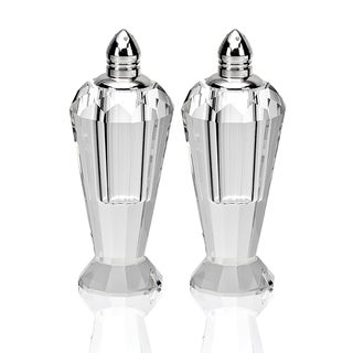 Crystal Preston-cut Salt and Pepper Set