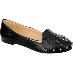 Women's Beston Carol-03 Black Faux Leather