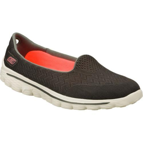 2e248323b8af Shop Women s Skechers GOwalk 2 Axis Charcoal - Free Shipping Today -  Overstock - 8084971